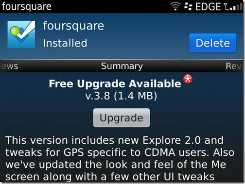 Foursquare Update 3.8