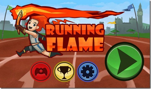Running Flame
