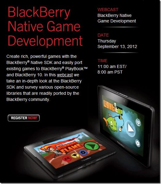 Native SDK Webcast
