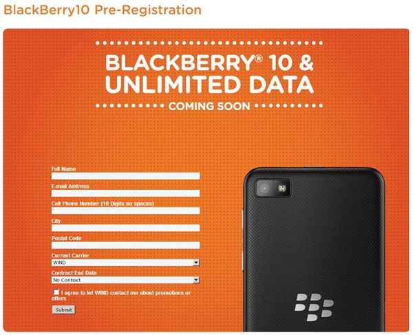 WIND Mobile _ BlackBerry10 Pre-Registration-000087
