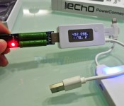 Echo PowerConnect 4000mAh Connected Stress test at 1A